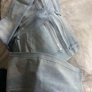 White House Black Market crop jeans